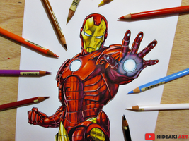 Iron Man || Marvel Comics by HideakiArtReal