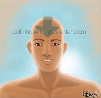 Aang Speed Painting by MissKingdomVII