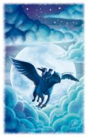 Fly Buckbeak! Fly! by whikiko