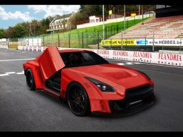 Skyline GT-R race version by asoares