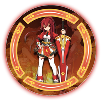 Elesis The Red Haired Knight AH Avatar by SwedishX25