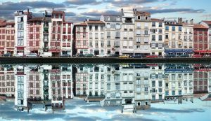 Bayonne - Reflection by Abylone