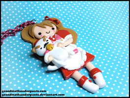 Bee and Puppycat by GrandmaThunderpants