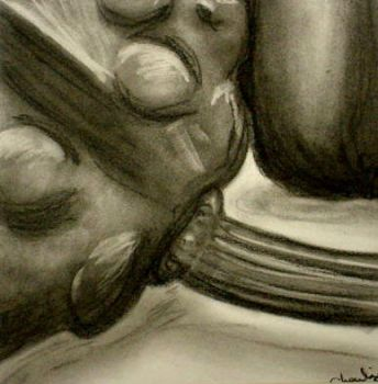Still life charcoal by flawlessMistakes