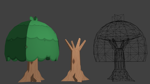 3D Big Tree by The-Knick
