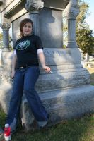 Blonde in the Cemetery - 3 by SafariSyd
