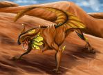 Dunes Dragon by quinnk