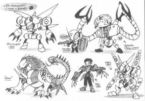 Robotboy monsters-08 by Kainsword-Kaijin