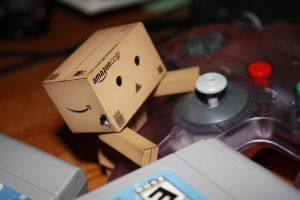 Danbo and the Throwback by OhMyDearMyTisOfThee