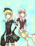 Commission: Blau and Aelita by yamieggman