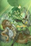 dryad and faun_color by missVarlou