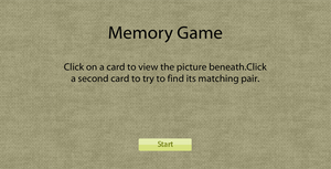 Memory Game by flashdo