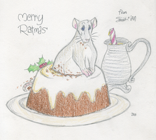 Merry Ratmas by tymime