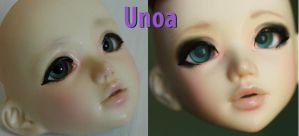 Hollow's faceup by astronautcutie