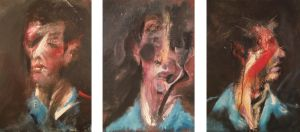 Three Studies for a Self Portrait by RyckRudd