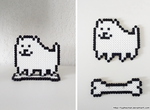 Annoying dog with stand (Bead sprite) by TyphieChan