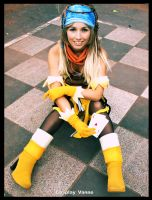 Final Fantasy's Rikku by Vanne