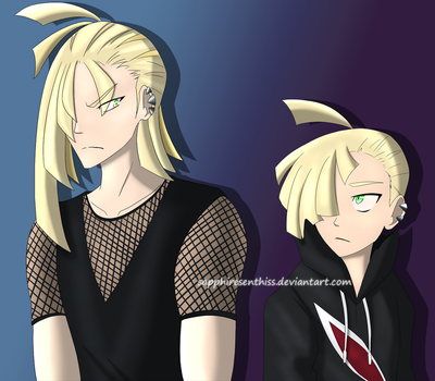 Two Gladions by Sapphiresenthiss