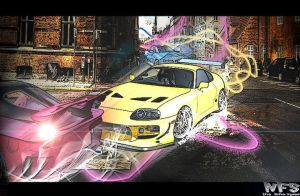 Fast And Furious Neon Drift by 1stylz