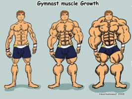 Gymnast muscle growth by hearmenowu2