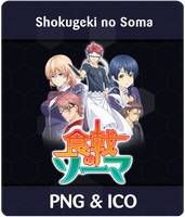 Shokugeki no Soma -  Anime Icon by Rizmannf
