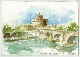 castel st angelo by archidisiac