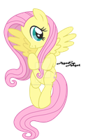 Cute Fluttershy by AgnessAngel