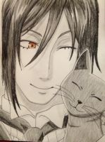 his butler, cat lover by rikuswife
