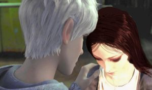 Jack Frost x Alice Liddell by IceTea-ROTG-AMR-FC