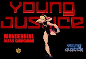 Young Justice Wallpapers - Wonder Girl by EspioArtworks