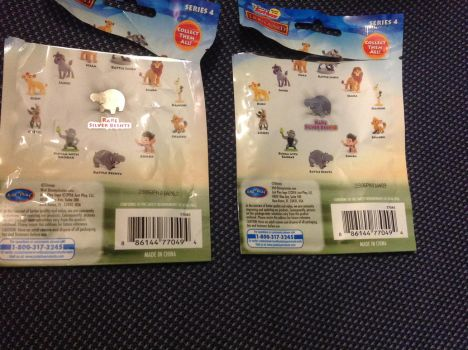 Lion Guard Blind bags with codes by Se7J-r