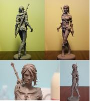 Ciri figure. pic2 by Jambal