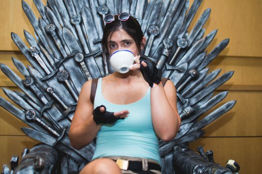 The Iron Throne 3 by pfangirl