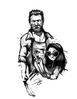 Old Man Logan by sab7ir