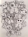 Bubble Monsters by Paper-Pen-Pattern