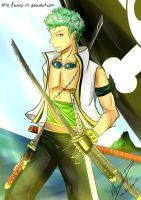 Gift: Zoro by talespirit