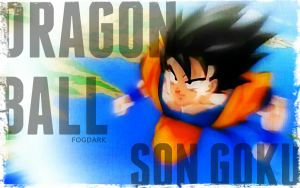 Keep on flying, Son Goku! by fogdark