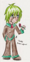 Tenko the Brown Infernal by Firen-the-hedgehog