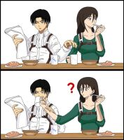 Lance Corporal Rivaille/Levi and Suki by AngelGeneration98