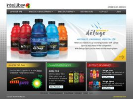 Intellibev Website Design by Cameron-Schuyler