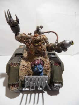 Plague Hulk 2 from the front by Dible