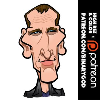 Christopher Eccleston by b1naryg0d