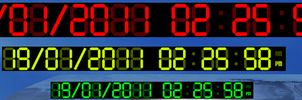 Digital Clock 1.0.1 by JorgeLuis-JorgeLuis