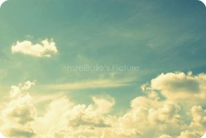 Sky by mzelBulle