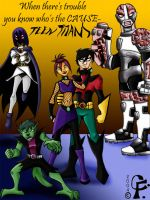 Dark Teen Titans. . . by Kare-San