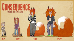 Consequence: Over the Years by JakaIope