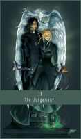 Tarot XX Judgement by dawninhell