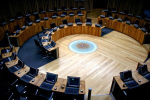 Welsh Assembly Chambers 04 by l8