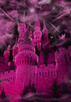Castle Fantasy BKG 7 - Pink by WDWParksGal-Stock