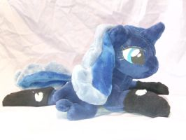 Bed Time Luna Shot 4 by DappleHeartPlush
